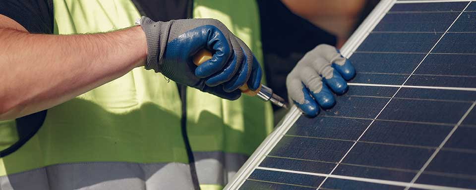 Instal·lació professional de plaques solars