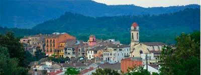Plaques solars a Anglès (Girona)