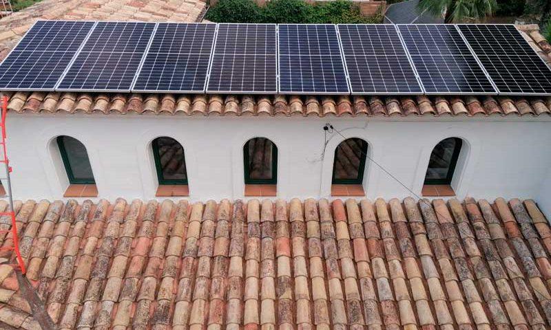 Energia Solar Fotovoltaica a Vidreres (Girona)